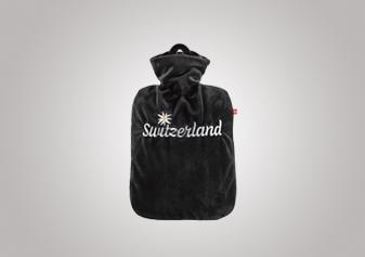 Wärmflasche «Switzerland mit Edelweiss»