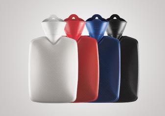 Wärmflaschen «Halblamelle»